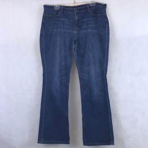 New York & Co Low Rise Jeans Size 16